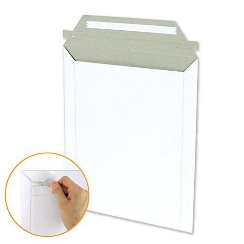 ダンボールワン A5・厚紙封筒(開封ジッパー付き) ネコポス・クリックポスト対応 (50枚入り)