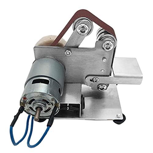 Mini Belt Machine DIY Polishing Machine Polishing Machine Fixed Angle Sharpening Tool Blade Machine Desktop