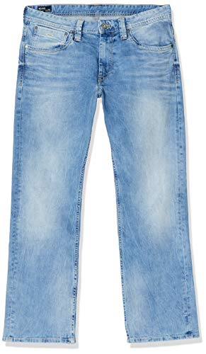 Pepe Jeans Kingston Zip, Vaqueros Regular para Hombre, Azul (11Oz Vintage 8 Dip S55), W29/L32