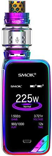 Authentische SMOK X PRIV Kit 225W TFV12 Prinz 8mL Tank E Zigarette Starter Kit SHURUN Aufbewahrungstasche enthalten(Prism Rainbow)