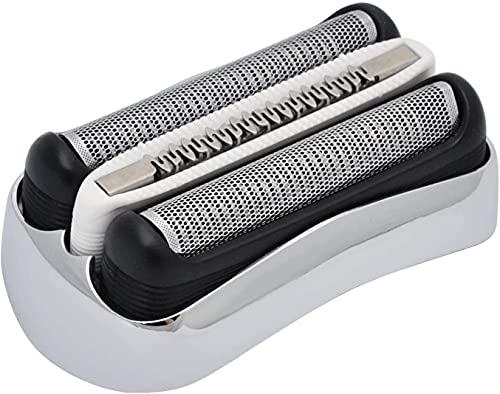 Poweka Ersatzscherkopf 32S für Braun Rasierer Series 3 320S 3010S 3000S 300S 3020S 310S 3070 3080S 3020 350 340 320 350CC 370CC Rasierern Elektrorasierer (large)