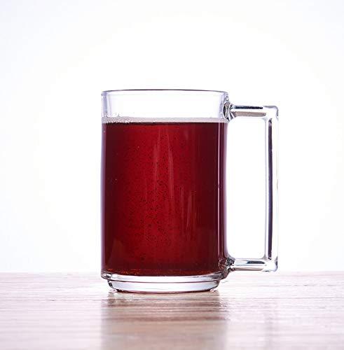 Glaseres Cristalería Vidrio Templado Espesado con Taza De Cerveza De Barril, Taza...