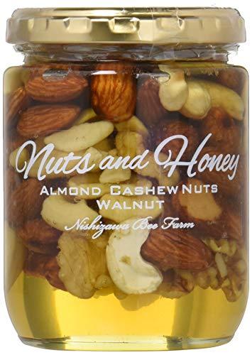 西澤養蜂場 ナッツ&ハニー 贅沢なナッツのはちみつ漬け 280g