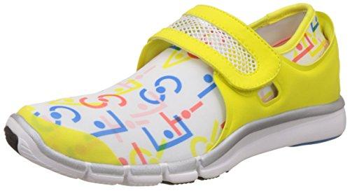 adidas Stellasport Zais by Stella Mccartney Mujeres Zapatillas de Deporte corrientes-Yellow-38.5