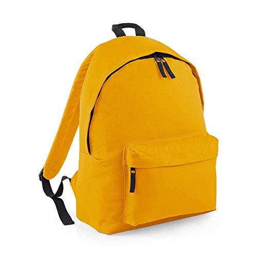 Bag Base Mixte Bg125must Original Sac à Dos Tendance Bg125, Moutarde, Medium