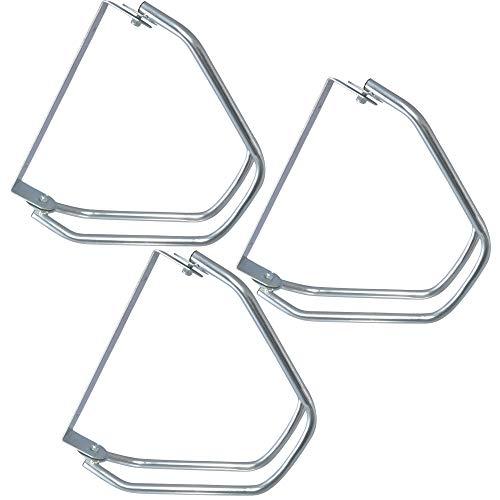 3 Stück Fahrradständer zur Wandmontage Verstellwinkel: 0?180°, Wandhalterung für je 1 Fahrrad