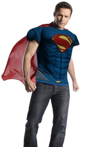 Kit disfraz de Superman Man of Steel deluxe para hombre - Estndar