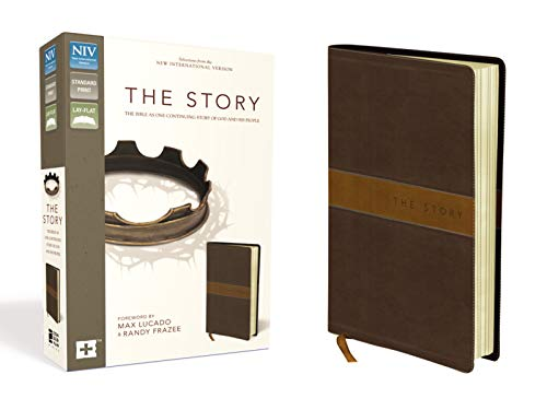 Download The Story: The Bible as One Continuing Story of God and His People: Selections from the New International Version: Chocolate / Tan Italian Duo-Tone 0310950988