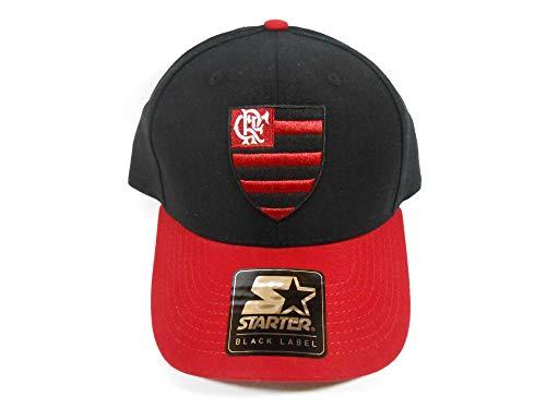 Boné Starter Clube de Regatas do Flamengo Preto e Vermelho