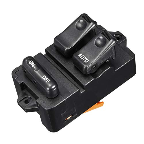 fITtprintse Car Styling Electric Power Finestra Master Control Switch Materiale ABS per Mazda 323F Bongo 1994-1998 95 96