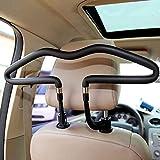 WZY Car Auto Universal Metal Seat Headrest Cloth Jacket Suit Coat Hanger Holder