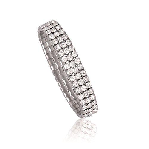 Pierre Cardin Armband mit 135 funkelnden Kristallen in Geschenkbox