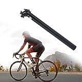 Tija de sillín de Bicicleta,tijas Bicicleta Carretera Bicicleta Bicicleta Tija de sillín para Bicicleta de montaña(27 * 350mm)
