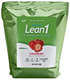Lean1 Strawberry 5 Pound (44 Servings), Fat Burning Meal Replacement