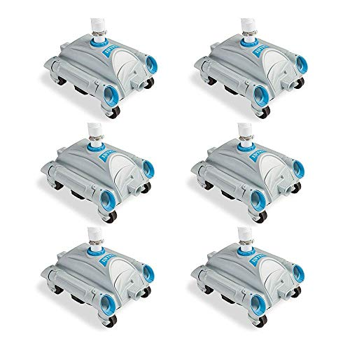 Intex Automatic Above-Ground Pool Vacuum for Pumps 1,600-3,500 GPH (6 Pack)
