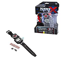 SpyX - all you need for your secret missions 8-in1 Spy Watch for Missions Day or Night SpyX surveillance, communication and concealment equipment is the next generation of cool spy toys