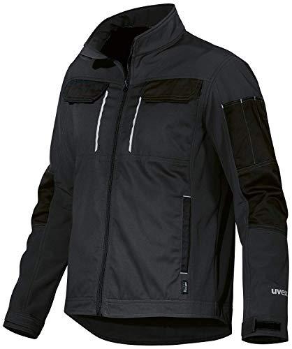 Uvex Tune-up Männer-Softshelljacke - Jacke für die Arbeit - Schwarz - L