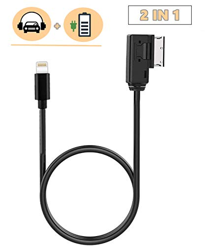Aps Aux Cable For Audi A5 A6 A7 To Ami For Ipod Iphone6 7 Ipad Cable 4F0051510Al