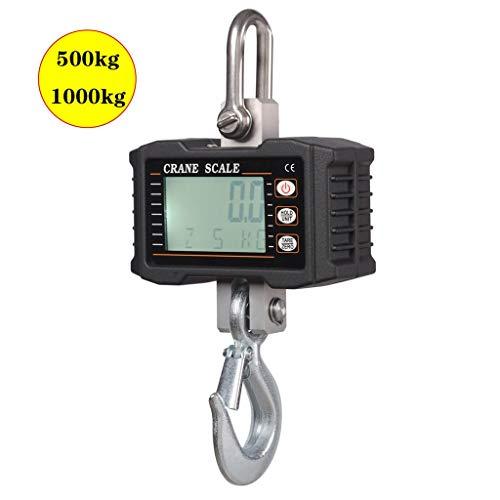 ZNND 1000 kg kraan hefwerktuig weegschaal hangende weegschaal aluminium digitaal industrieel zwaar belastbaar kraanweegschaal hoge nauwkeurigheid elektronisch frame