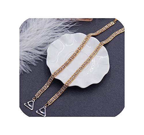 Nieuwe anti licht van de schouder ondergoed bandjes beha bandjes strass beha bandjes onzichtbare non slip schouderbandbreedte