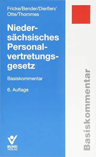 Niedersächsisches Personalvertretungsgesetz: Basiskommentar (Basiskommentare)