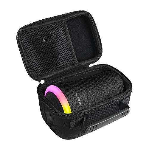 Difícil Eva Viajar Caso para Anker Soundcore Flare Altavoz Bluetooth portátil de 360°por Hermitshell
