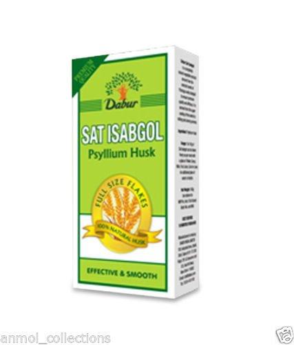 Dabur Sat isabgol Remedio para Digestivo Psyllium Husk 50mm Envío Gratuito ~ artículo # gh83h-j3/g8346064