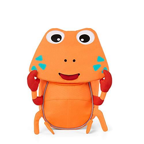Affenzahn Kleiner Freund - Kinderrucksack für 1-3 Jährige im Kindergarten - Krabbe - Orange