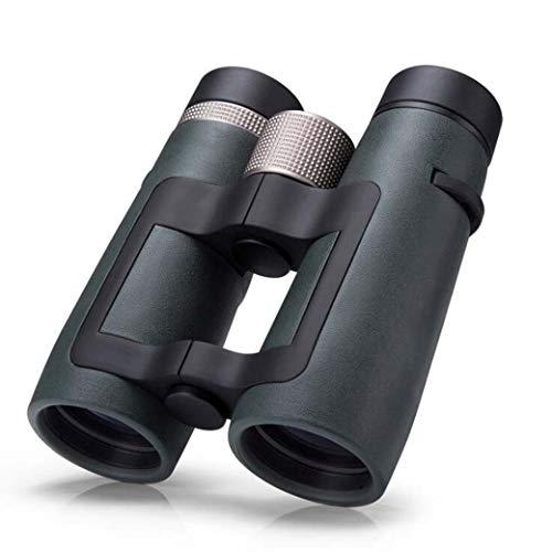ZTYD 10X42 Krachtige verrekijker, HD Hollow Grip Ontwerp Super Heldere BAK4 Prism FMC Lens Verrekijker voor Vogelspotten Jagen