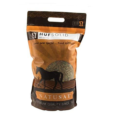 Natusat HufSolid + Biotin 4500 g, Ergänzungsfutter für Pferde