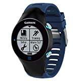 Gosuper pour Garmin Forerunner 610 Bracelet,Véritable Silicone Souple Watch Bracelet Stainless Steel Clasp Replacement Strap pour...
