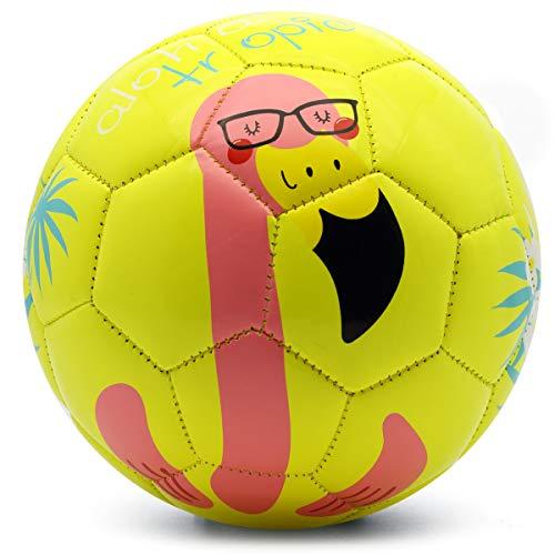 PP PICADOR - Fußball in Gelber Flamingo, Größe 3