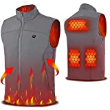 Vinmori USB Electric Heated Vest, Lightweight Heated Clothing...