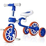 VOKUL 3 in 1 Kids Tricycle ,Toddler Balance Trike Bike Toys with Detachable Pedals,Toddler Walking Balance Bike/Bicycle for 1-4 Years Old Kids , Trike 3 Wheel Training Bike First Birthday Gift …