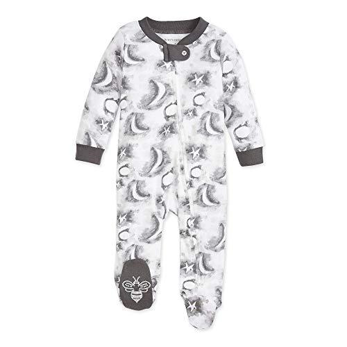 Burt's Bees Baby Baby Boys' Sleep and Play PJs, 100% Organic Cotton One-Piece Romper Jumpsuit Zip...