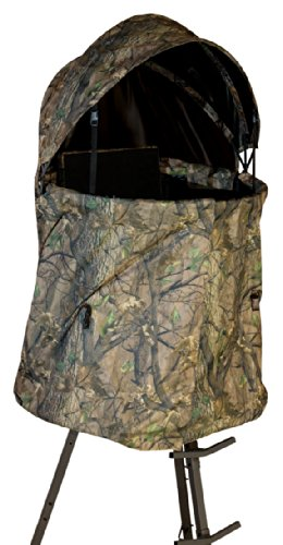 BIG GAME Treestands The Cover-All Blind Kit, Black, Model:BGM-CR9025