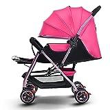 Passeggino ultraleggero per pesi fino a 25 kg, adatto alla crescita con bambine e bambini, schienali e sedili spaziosi.