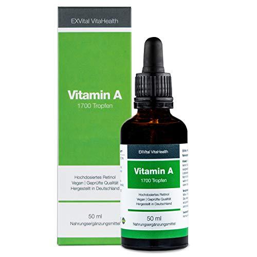 Exvital -  Vitamin A Tropfen