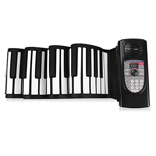 LIUFS-El teclado Rollo Manual Piano 88 Teclas Versión Profesional...