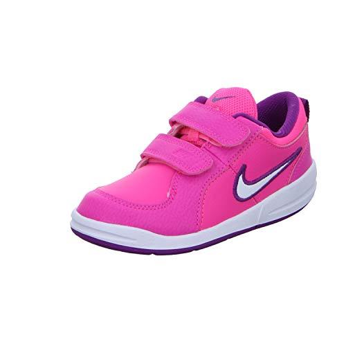 Nike Unisex Baby Pico 4 (TDV) Niedrige Hausschuhe, Rosa (Pink Pow/White/Bold Berry 606), 21 EU