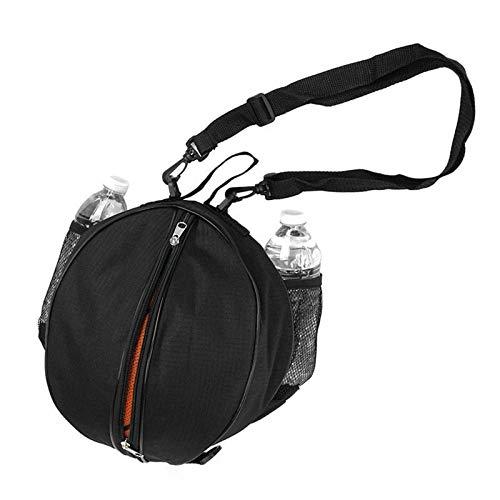 xjS Tarea Pesada Bolsa de Baloncesto Balón de fútbol Fútbol Voleibol de Voleibol Softbol Bolsa de Bolsas Bolsas de Hombro Se Adapta a Interiores y Exteriores (Color : Black)