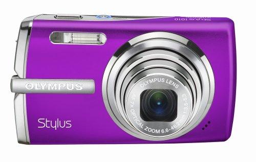 Olympus Stylus 1010 10.1MP Digital Camera with 7x Optical Dual Image Stabilized Zoom (Purple)