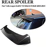 NB-LY Spoiler Personalizado Ventana Trasera de Fibra de Carbono para Volkswagen VW Golf 6 Hatchback GTI R20 2010-2015