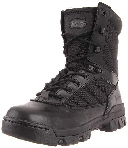 "Bates Women's 8"" Ultralite Tactical Sport Side Zip, Black, 9 M US"