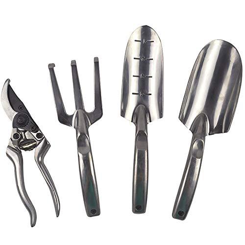 Basis Apparatuur handgereedschap special: Vier-delige tuinset voor tuinonderhoud Tool Bag - bevat tools voor de tuinman