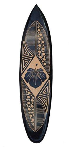 Interlifestyle Deko Surfboard 100cm mit tollen Verzierungen Dekoration zum Aufhängen Surfbrett