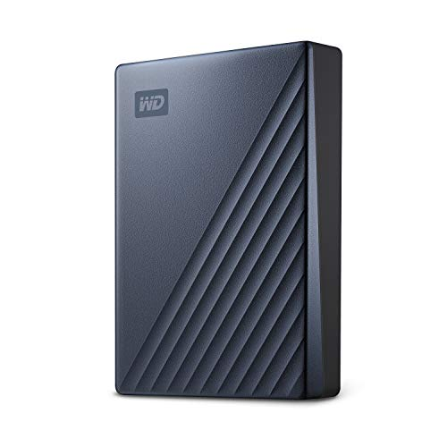 WD 5TB My Passport Ultra Blue Portable External Hard Drive USB-C - WDBFTM0050BBL-WESN - $102.99 Amazon