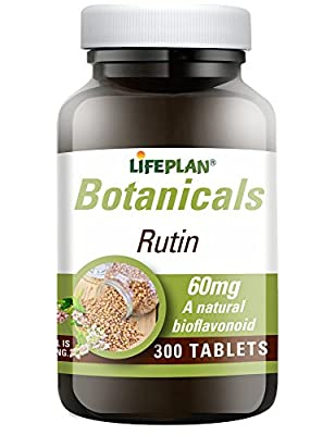 Lifeplan Rutin 60mg 300 Tablets from Lifeplan