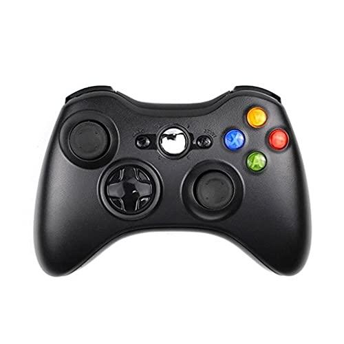 Xbox360 Game Game Manill A Estrenar Doble Vibración PC Manija De PC Xbox360 Mango De Juego Bluetooth Inalámbrico, Con Doble Vibración PC Controller Game Game Game Board. ( Color : Black )
