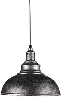SXXYTCWL Pendentif Moderne Light Personnalité de Style rétro Industriel Simple tête en Fer forgé Restaurant Bar Vêtements ...